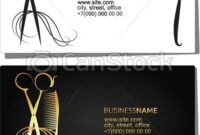Beauty Salon Business Card. Beauty Salon And Hair Salon In Business Plan Template For Clothing Line
