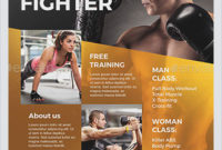 Best Fitness Business Flyers For Gym Marketing – Hollymolly! for Business Plan Template For Gym