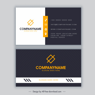 Black And White Vector Wings Black And White Vector Wings with Openoffice Business Card Template