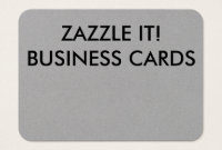 Blank Business Cards – Business Card Printing | Zazzle.au in Blank Business Card Template Download