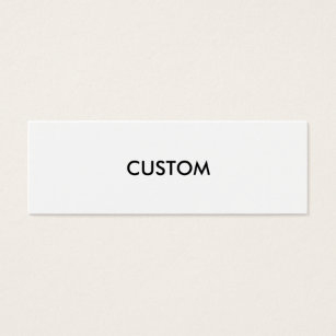Blank Business Cards & Templates | Zazzle in Best Blank Business Card Template Download