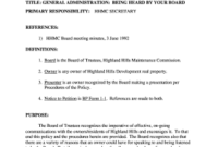 Board Minutes Definition – Fill Out, Print & Download for Board Meeting Agenda Template Non Profit