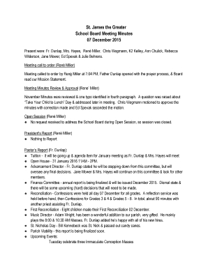 Board Minutes Definition – Fill Out, Print & Download Regarding Advisory Board Meeting Agenda Template