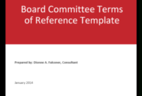 Board Or Committee Meeting Evaluation Form | The Ontario with regard to Collaboration Meeting Agenda Template