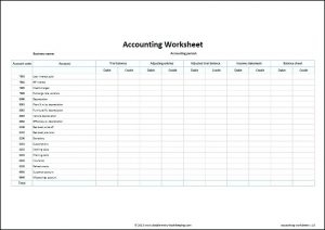Bookkeeping Template | Charlotte Clergy Coalition throughout Best Bookkeeping For A Small Business Template