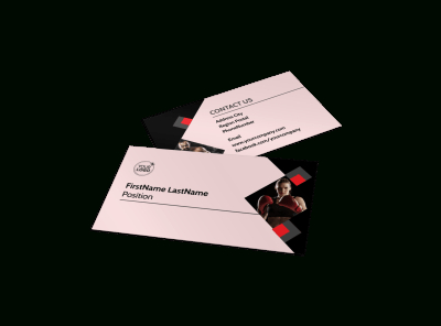 Boxing Gym Business Card Template   Mycreativeshop within Business Plan Template For Gym