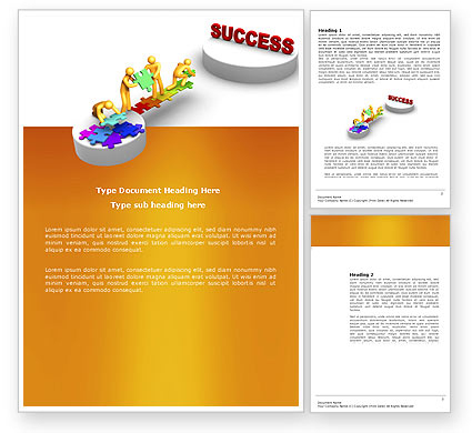 Bridge To Success Business Card Template, Layout. Download in Best Business Card Powerpoint Templates Free