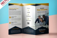 Brochure Psd Designs, Themes, Templates And Downloadable regarding Free Tri Fold Business Brochure Templates