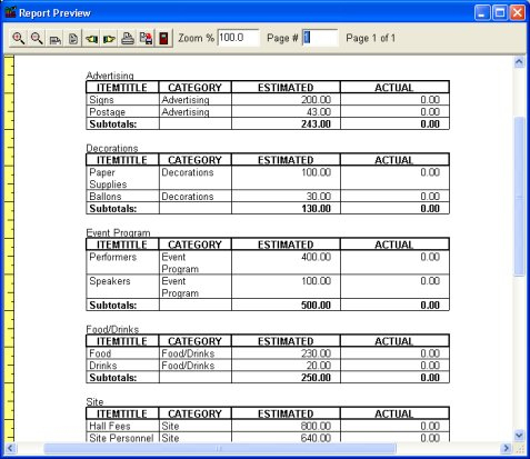 Budget Organizer Deluxe: Simple Budget Manager, Database throughout New Record Label Business Plan Template Free