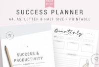 Budget Planner Finance Planner Budget Template Financial for New Etsy Business Plan Template