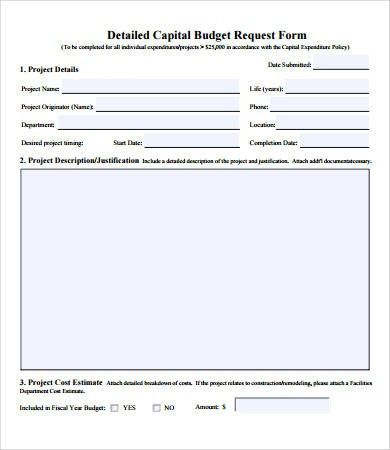 Budget Request Template Understanding The Background Of Throughout Proposed Budget Template