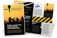 Building Industry Brochure Template Design And Layout for Business Service Catalogue Template