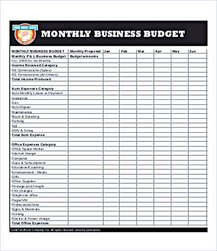 Business Budget Template For Excel And How To Make Yours regarding Business Plan Template Free Download Excel