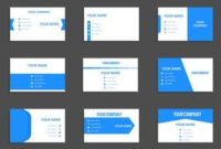 Business Card Free Vector Art – (123,339 Free Downloads) for Professional Website Templates For Business