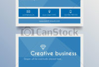 Business Card Template Modern Blue. Creative Business Card within Best Free Editable Printable Business Card Templates