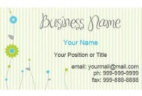 Business Card Template Word Blank – Business Card in Construction Business Card Templates Download Free
