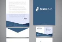 Business Cards, Letterhead & Envelopes – Designsva For Business Card Letterhead Envelope Template