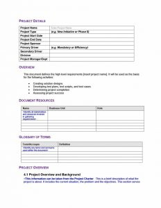 Business Document Templates | Charlotte Clergy Coalition inside Example Business Requirements Document Template