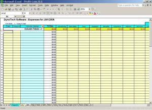 Business Expenses Template Free Download | Charlotte pertaining to Accounting Spreadsheet Templates For Small Business