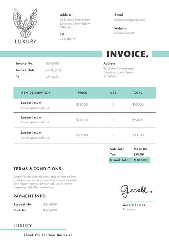 Business Invoice Template Design - Download Free Vectors for Quality Free Business Invoice Template Downloads