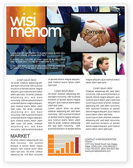 Business Meeting Outdoor Newsletter Template For Microsoft throughout Free Business Newsletter Templates For Microsoft Word