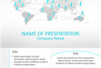 Business Network Powerpoint Template – Templateswise inside Ppt Presentation Templates For Business