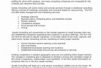 Business Plan Executive Summary Template ~ Addictionary with Executive Summary Of A Business Plan Template
