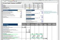 Business Plan Financial Model Template – Bizplanbuilder With Regard To Unique Business Plan For Sales Manager Template
