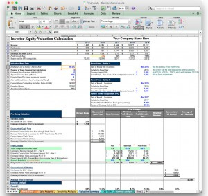 Business Plan Financial Model Template - Bizplanbuilder with regard to Unique Business Plan For Sales Manager Template