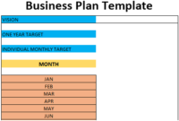 Business Plan Template | Free Download (Ods, Excel, Pdf & Csv) with Best Business Plan Spreadsheet Template Excel