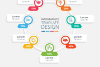 Business Process Infographic Template Design With 6 Steps with Business Process Design Document Template