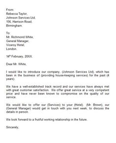 Business Proposal Letter To Client   Paintings   Business for Best New Business Introduction Email Template