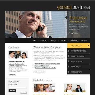 Business & Services Psd Template #54354 | Psd Templates pertaining to Unique Business Testimonial Template