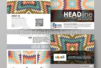 Business Templates For Square Design Bi Fold Brochure With Regard To Business Plan Template For Clothing Line