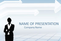 Businesswoman Powerpoint Template – Templateswise with New Free Download Powerpoint Templates For Business Presentation