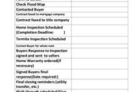Buyer'S Contract To Close Checklist | Real Estate In 2019 pertaining to New Real Estate Agent Business Plan Template Pdf