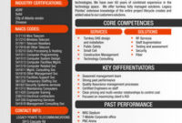Capability Statement Examples – Google Search   Sample with regard to Quality 30 60 90 Business Plan Template Ppt