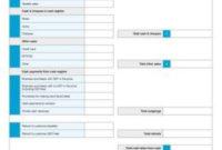 Cash Sales Reconciliation Sheet Template | Reconciliation with Unique Business Process Design Document Template