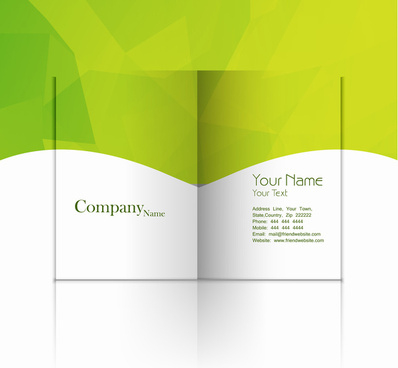 Catalogue Free Vector Download (25 Free Vector) For in Fold Over Business Card Template