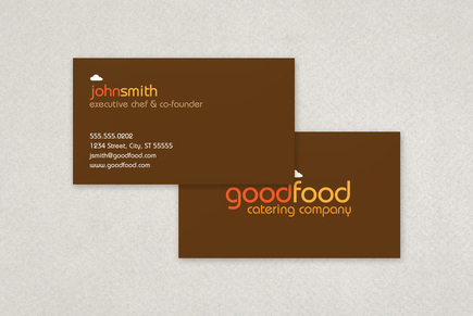 Catering Company Business Card Template   Inkd pertaining to New Front And Back Business Card Template Word
