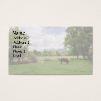 Cattle Business Cards & Templates | Zazzle intended for Livestock Business Plan Template