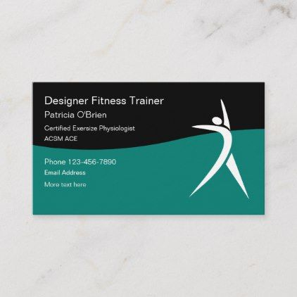 Certified Exercise Physiologist Business Card | Zazzle within New Medical Business Cards Templates Free