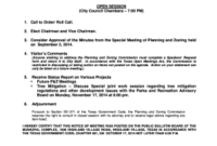 Chairman S Agenda Definition - Fill, Print & Download intended for It Steering Committee Agenda Template