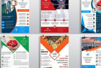 """Check Out New Work On My @Behance Portfolio: """"Clean with regard to Unique New Business Flyer Template Free"""