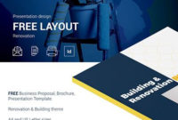 """Check Out New Work On My @Behance Portfolio: """"Free with Business Proposal Indesign Template"""
