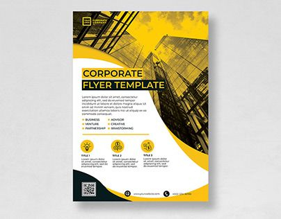 """Check Out New Work On My @Behance Portfolio: """"Psd Flyer pertaining to Unique New Business Flyer Template Free"""