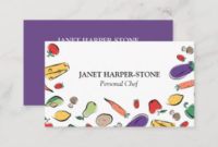 Chef Business Cards & Templates | Zazzle in New Food Business Cards Templates Free