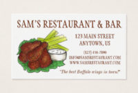 Chicken Business Cards & Templates   Zazzle within Restaurant Business Cards Templates Free