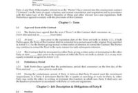 China Ceo Employment Agreement Template | Legal Forms And pertaining to Best Business Management Contract Template