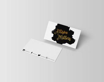 Christmas Card Template Photographer Psd Instant Download regarding Photography Business Card Template Photoshop